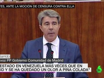Ángel Garrido, portavoz del PP en la Asamblea de Madrid