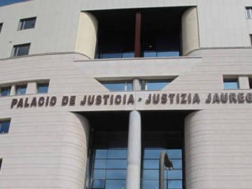 Fachada del Palacio de Justicia de Navarra