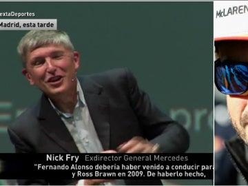 Nick Fry, exdirector general de Mercedes