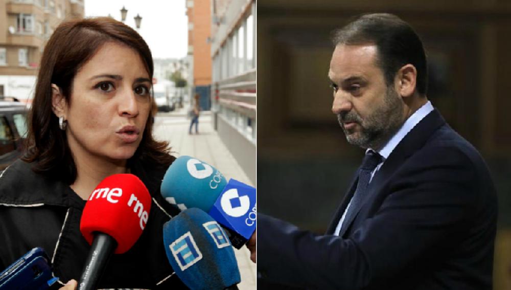 Adriana Lastra y José Luis Ábalos PSOE