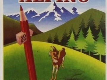 La caja de los lápices Alpino