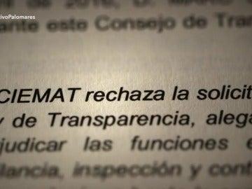 """El Ciemat niega los análisis de Palomares a El Objetivo porque """"las relaciones con EEUU podrían verse afectadas"""""""