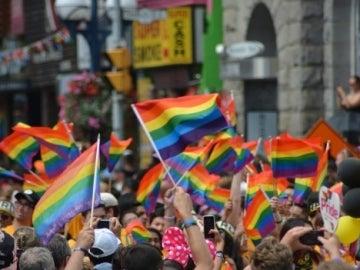 Banderas del arcoíris