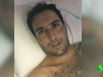 """Cristian Bosco, el surfista cántabro con leucemia atrapado en Bali, vuelve a casa: """"El sol sale hoy, estoy lleno de felicidad"""""""