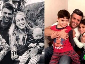 Leopoldo López junto a su familia antes y después de pasar por la cárcel