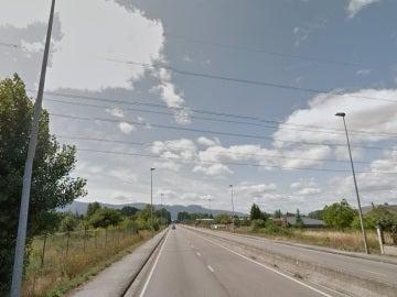 kilómetro 35 de la carretera CL-631