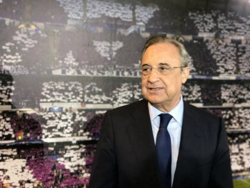 Florentino Pérez, en un acto