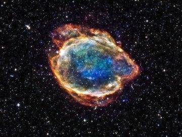 La estrella que recorre nuestra galaxia a 900.000 km por hora tras sobrevivir a una supernova