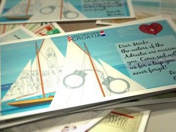 """La Europol envía postales veraniegas a criminales muy buscados para que vuelvan: """"¡Las playas te echan de menos!"""""""