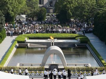 Ceremonia principal en recuerdo a las víctimas de Hiroshima