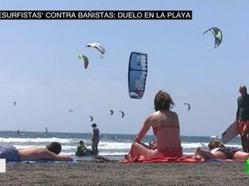 Los kitesurfistas piden que se ordenen las playas para fomentar este deporte y evitar accidente
