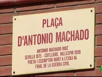 """El Ayuntamiento de Sabadell sopesa quitar el nombre de Antonio Machado a una plaza por """"españolista y anticatalanista"""""""