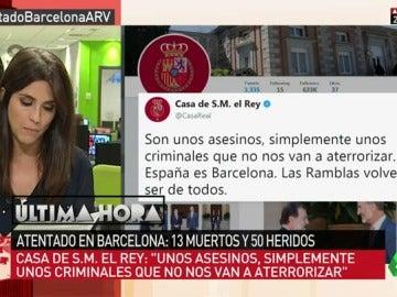 Lideres políticos nacionales e internacionales muestran sus condolencias tras el atentado terrorista en Barcelona