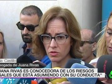 María Castillo, abogada de Juana Rivas