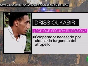 Driss Oukabir alquiló la furgoneta del atropello