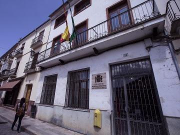 Vista de la fachada de los juzgados de Archidona (Málaga)