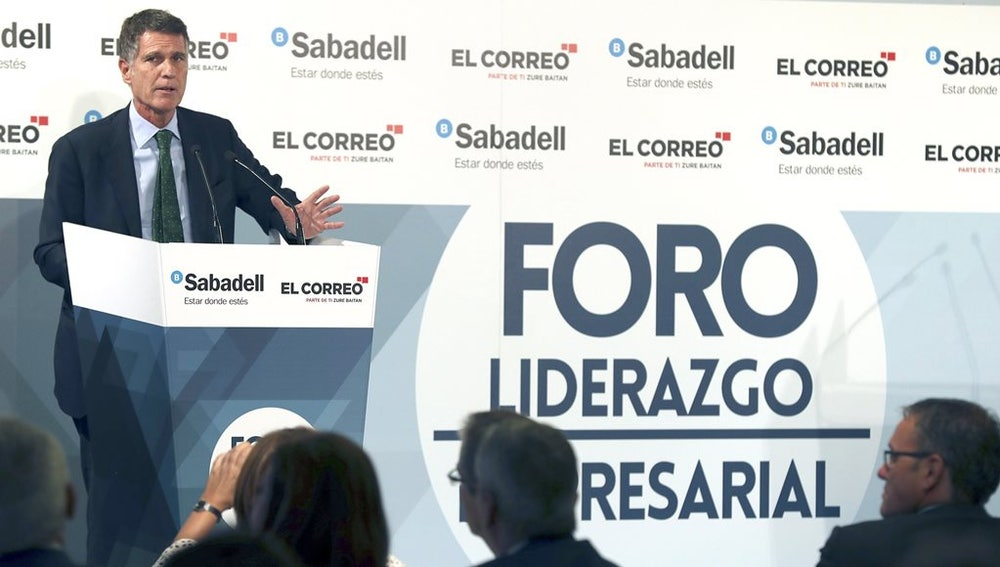 El consejero delegado del Banco Sabadell, Jaime Guardiola