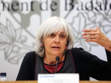 Dolors Sabater, alcaldesa de Badalona