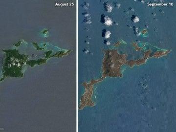 Las islas del Caribe devastadas tras el paso del huracán Irma