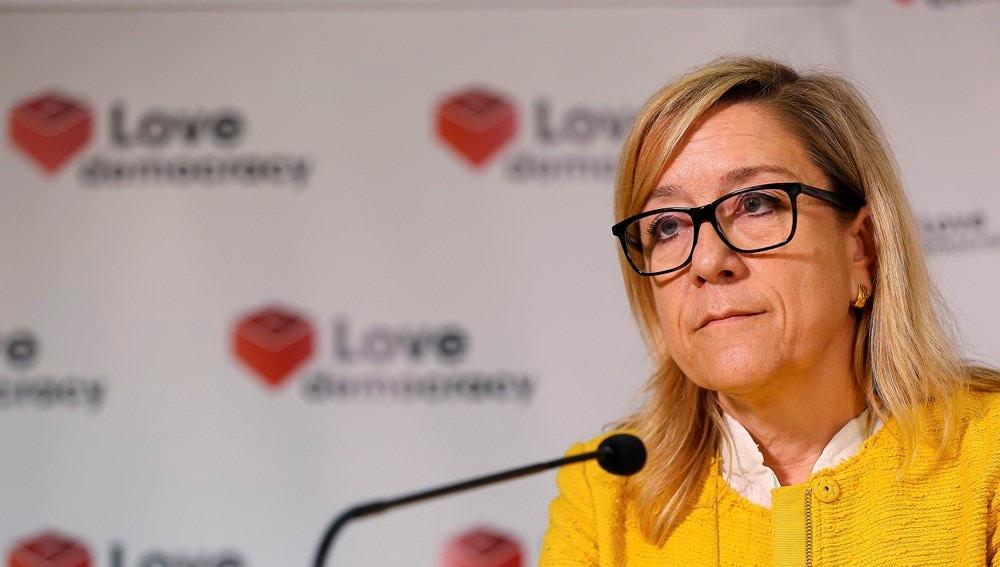 La expresidenta de la Asociación de Municipios por la Independencia, Neus Lloveras