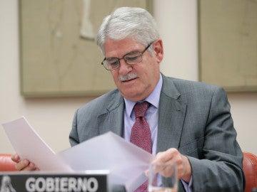 El ministro de Asuntos Exteriores de España, Alfonso Dastis.
