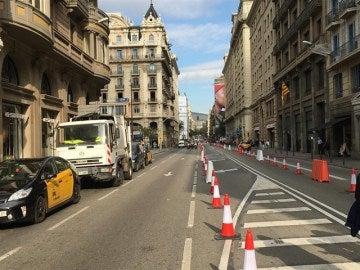 Barcelona cortará muchas de sus calles para restringir el tráfico