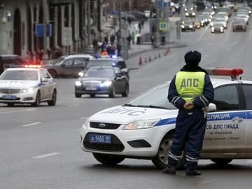 Imagen de archivo de la policía rusa en un suceso