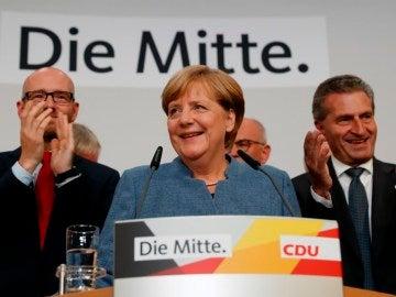 La canciller alemana y líder cristianodemócrata, Angela Merkel