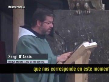 Sergi D'Assis, monje del Monasterio de Montserrat