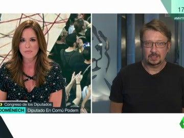 El diputado de En Comú Podem, Xavier Domènech