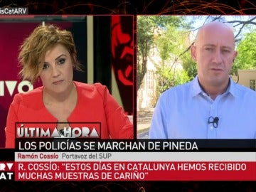 El portavoz del SUP, Ramón Cossío