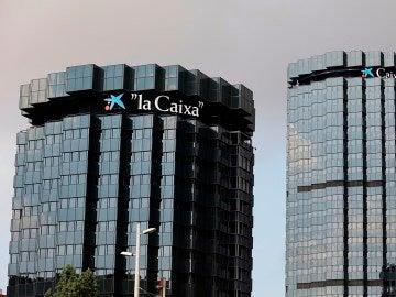 Sede de Caixabank en Barcelona antes de anunciar su traslado