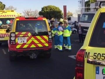 Un hombre muere en Mercamadrid tras quedar atrapado en el elevador de su camión