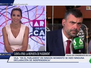 Santi Vila, responsable de Empresa del Govern