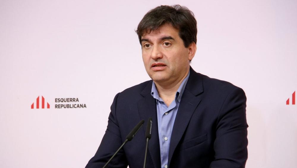 Sergi Sàbria, de Esquerra Republicana.
