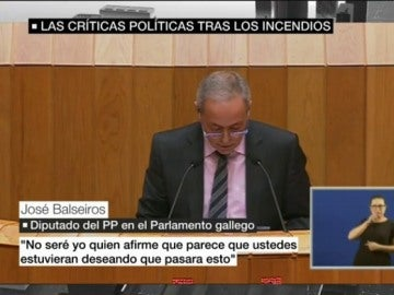 José Balseiros, diputado del PP en el Parlamento gallego