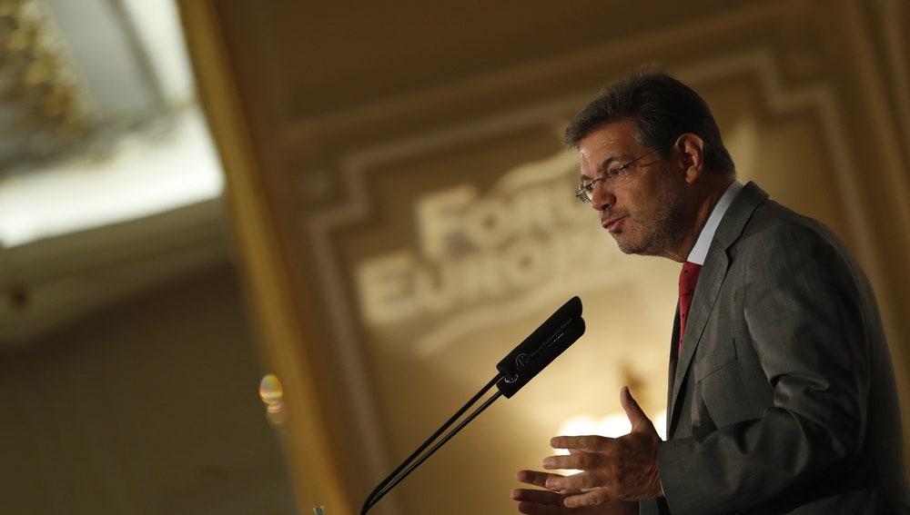 Rafael Catalá, ministro de Justicia