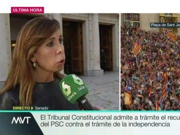La senadora del PP, Alicia Sánchez Camacho