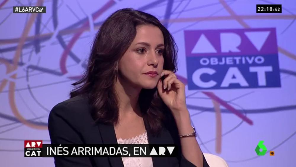 """Inés Arrimadas: """"Tenemos una oportunidad de oro para ganar. La mayoría social que ha sido silenciada tiene que salir en masa"""""""