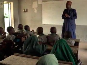Una escuela de Nigeria