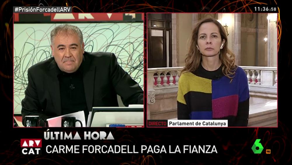 """Neus Tomàs, sobre las elecciones catalanas: """"Puigdemont está planteando una apuesta arriesgada a su partido. Es un todo o nada"""""""