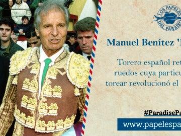 Manuel Benítez 'El Cordobés'