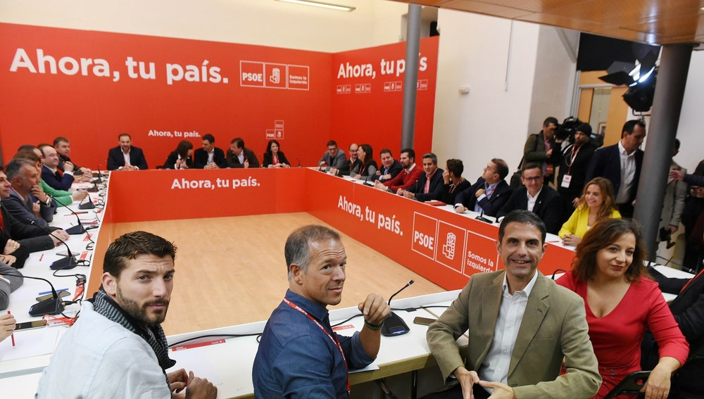 Reunión del Comité Federal del PSOE, máximo órgano entre congresos