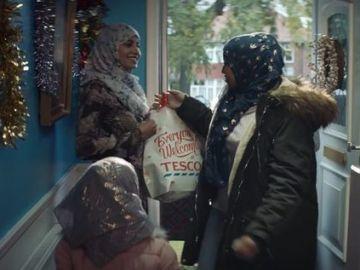 Parte del anuncio del supermercado