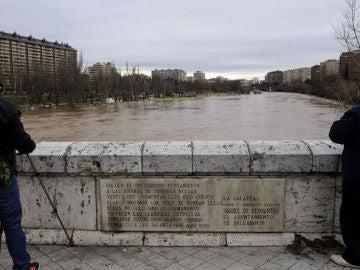 El río Pisuerga a su paso por Valladolid