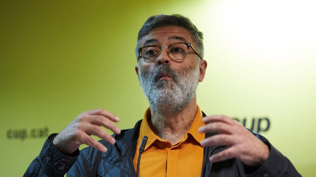 Carles Riera, diputado de la CUP