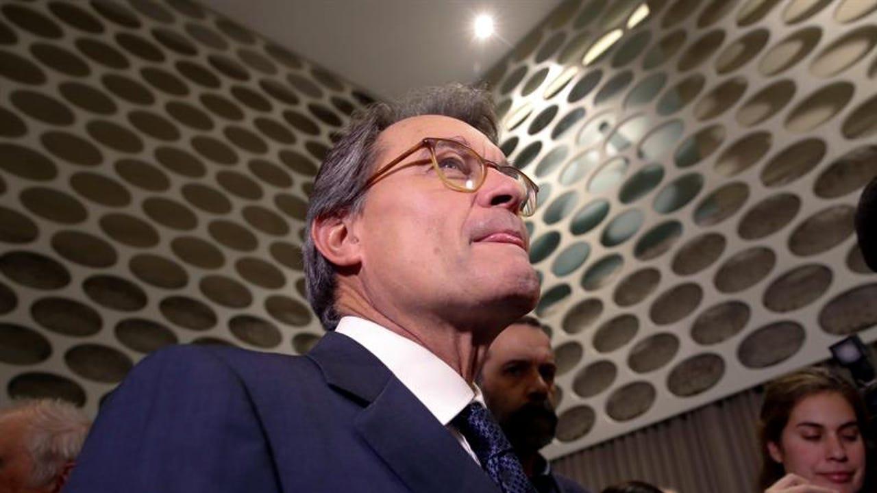 El expresidente de la Generalitat, Artur Mas