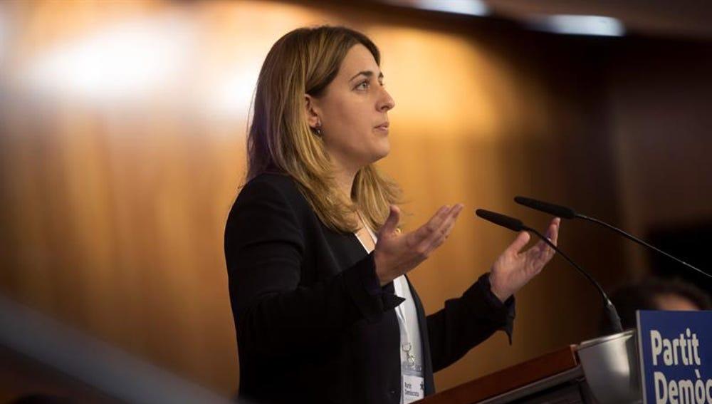 La líder del PDeCAT, Marta Pascal