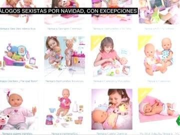 """""""Las niñas de rosa y los niños de azul"""": vuelve la polémica sobre el machismo en los catálogos de juguetes de navidad"""