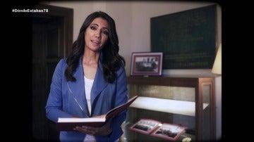 Ana Pastor con la Constitución